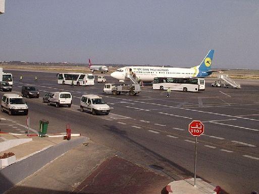 Аэропорт Монастира, взлётная