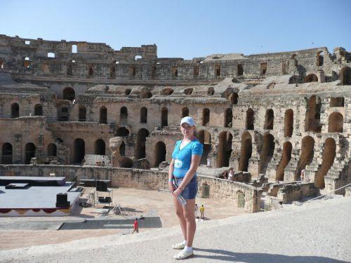 Амфитеатр Эль-Джем - место съемок известного на весь мир фильма Гладиатор