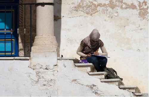 От города веет как-то особой романтичностью, недаром в Сиди-Бу-Саиде творили Поль Клее и наш земляк Александр Рубцов.. впрочем, и сейчас здесь можно вдохновленных художников